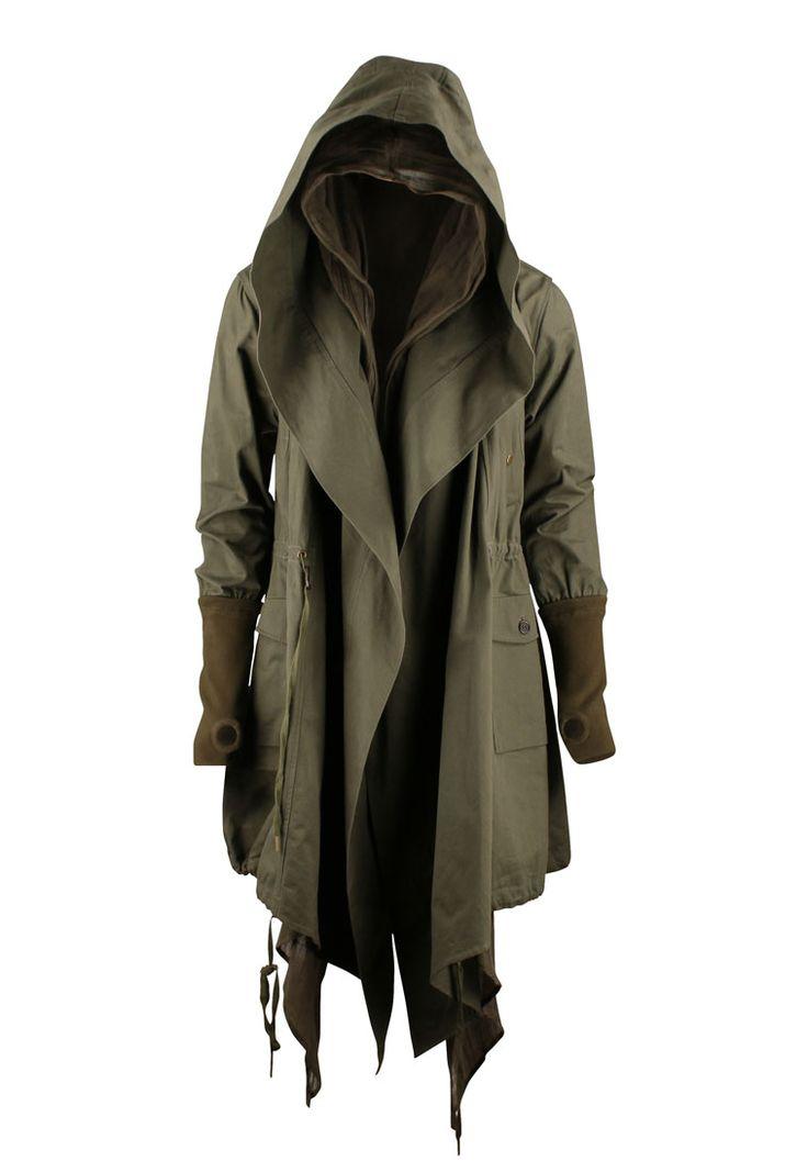 Trench Coat Hoodie ( by Nicholas K )
