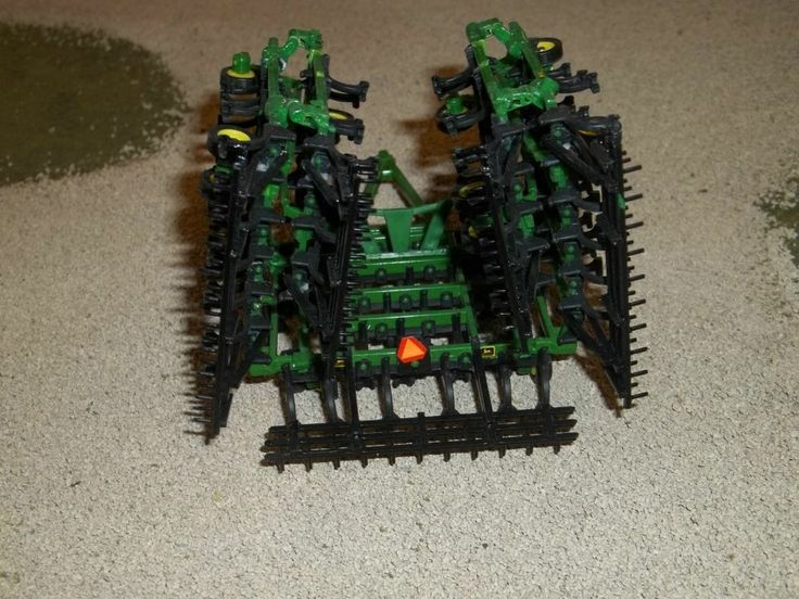 1 64 Custom John Deere Triple Fold Cultivator With Harrow