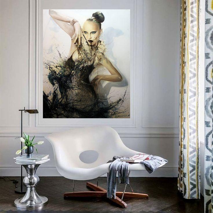 Other Side of Woman by Yiğit Dündar TÜYB / #OilonCanvas 114cm x 146cm 6.100₺ / 1.700$  #gallerymak #sanatçı #realizm #tuval #sanat #artoftheday #contemporaryart #paintings #stil #epic #masterpiece #ig_sanat #artgallery #hyperrealism #modernart #fineart #instaart #yağlıboya #artbasel #artcollector #oilpainting #yagliboya #sanatsal #mimari #contemporaryartcurator #tasarim #artcollectors #hyperrealistic #artlovers
