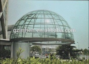 Customed polycarbonate roof steel frame skylight cover sheet
