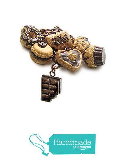 Chocoholic Bracelet ~ Food Jewelry from HugsKissesMINI http://www.amazon.com/dp/B015YF3DT0/ref=hnd_sw_r_pi_dp_UTFqwb09AT9Q3 #handmadeatamazon