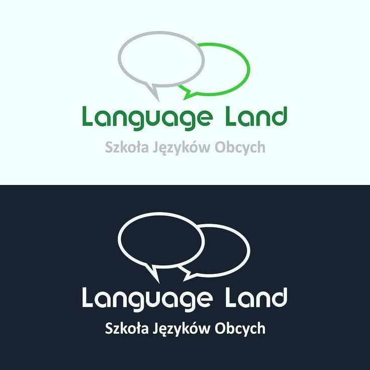 Logo dla szkoly jezykow obcych Language Land #projektgraficzny #graphicdesign #logo #mgraphics #buskozdroj #nadajemyksztaltypomyslom www.mgraphics.eu