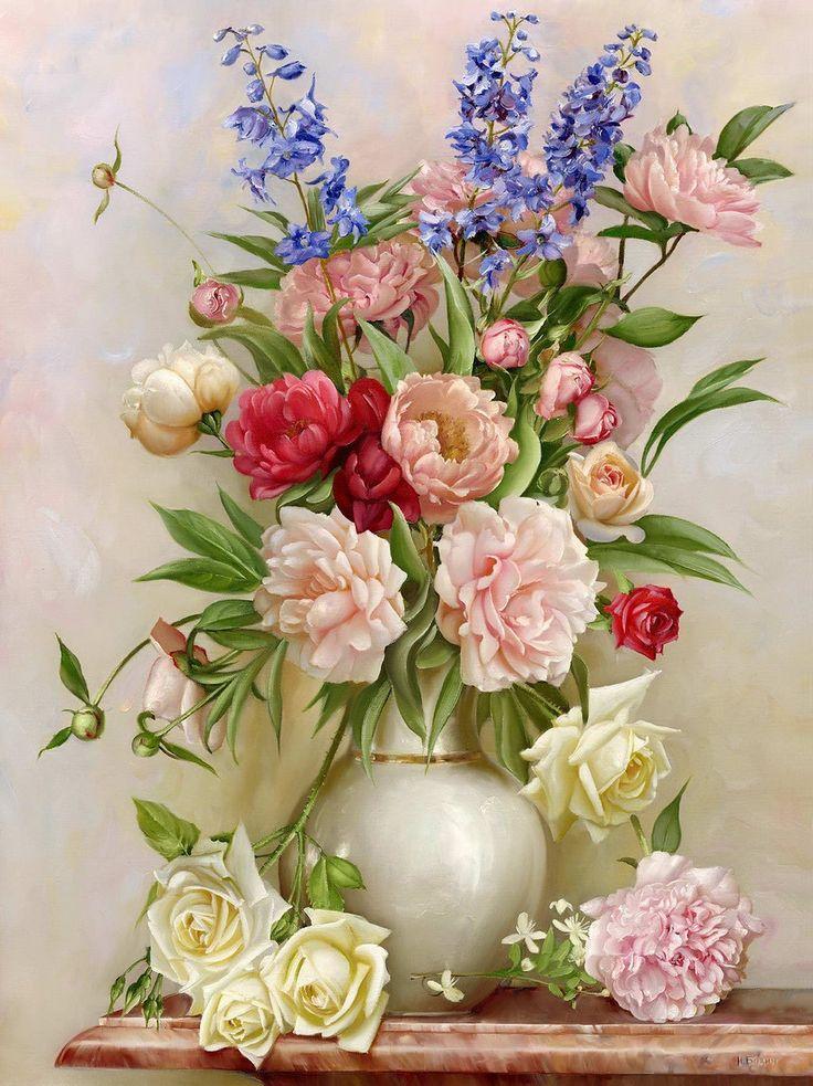 Открытки с букетами цветов в вазе, информатике для