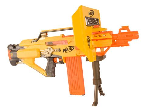 Nerf gun. Great colors!
