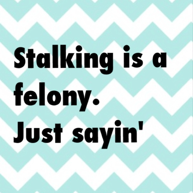 Stalkers.... I know you're watching...  but I've let them their admin know, all the same!And there watching you now.So lets see who gets the last laugh.Because I sure am laughing,awe how sad,you don't have no friends.Woodridge will take you.