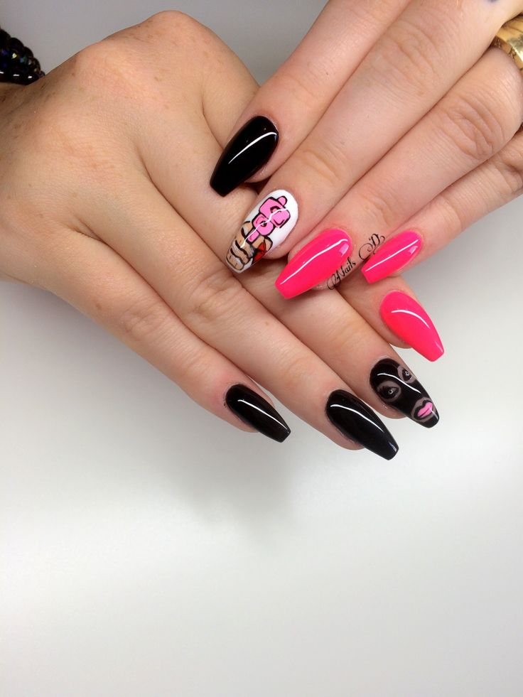 Nails design#another good idea from another client#bang#love her💰