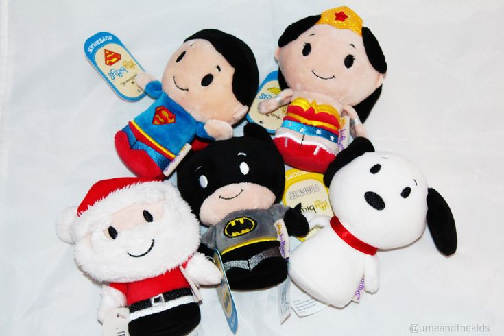 Take a look at these Itty Bittys collectable plush toys! I have to get these for my kids toys this Christmas! Superman, Wonder woman, Batman, Snoopy and father christmas! xoxo #popular #christmas #plush