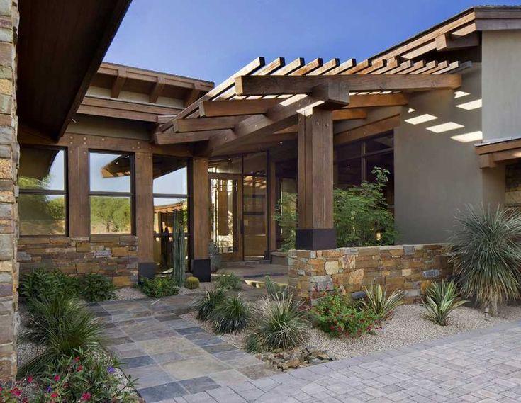 Unique and elegant patio pergola designs espacios hogar for Cobertizo de madera de jardin contemporaneo