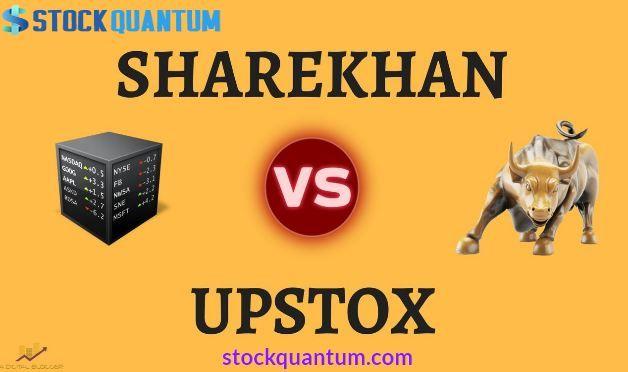 Upstox Vs Sharekhan Comparison In 2020 Brokers Online Trading Stock Broker