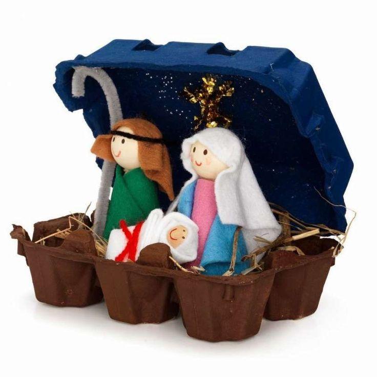 Presepi originali - Idee creative per Natale