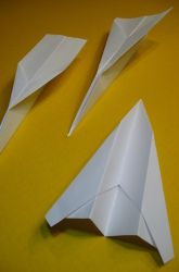 Does A Longer Paper Airplane Fly Farther than a Wide One? | Education.com