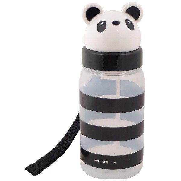 Panda school supplies: Adorable reusable water bottle