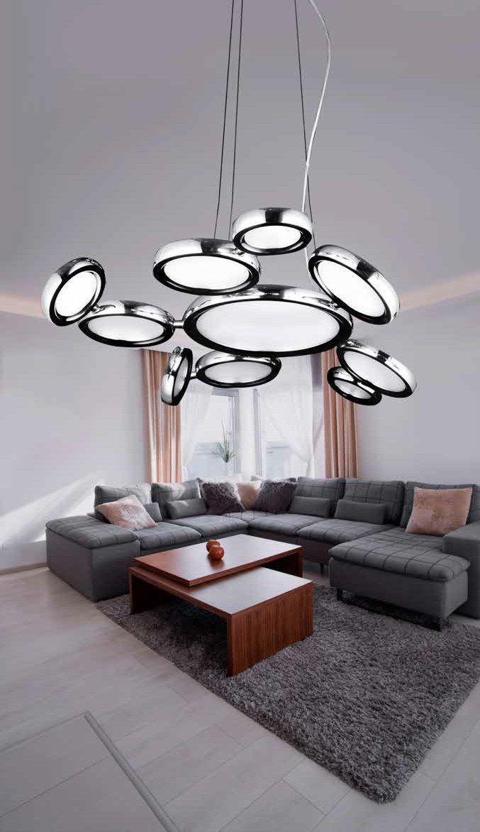 Azzardo Lampa wisząca LED Satellite AD13048-11A : : Sklep internetowy Elektromag Lighting #lamp #modern #lighting #oświetlenie #homedesign #interiors