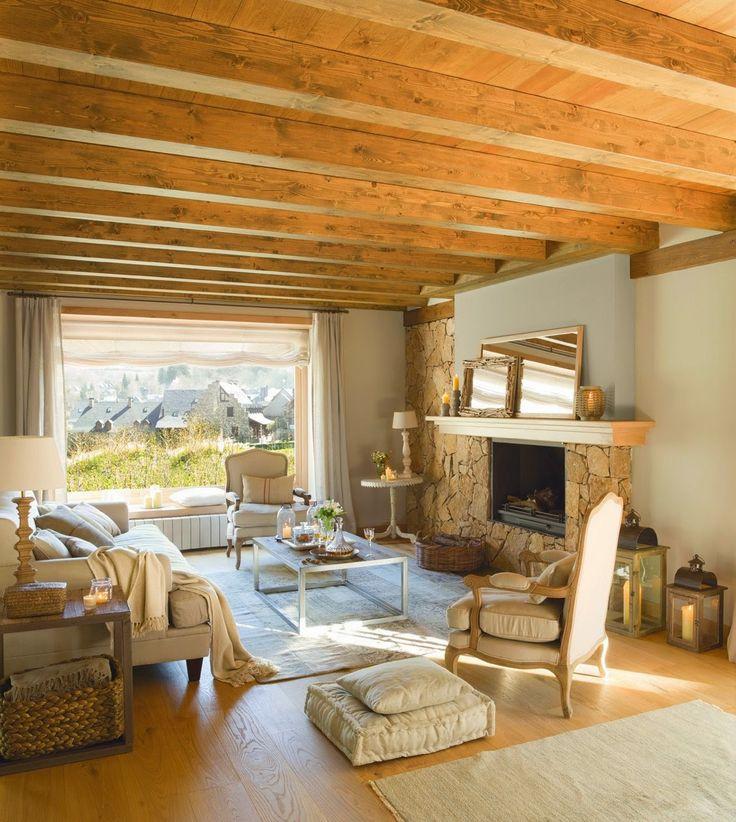 Best 25 salas rusticas ideas on pinterest salas de - Casas de campo rusticas ...