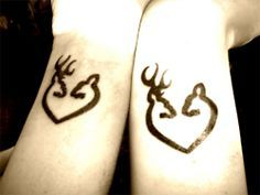 how cute more tattoo ideas browning heart tattoos browning tattoos ...