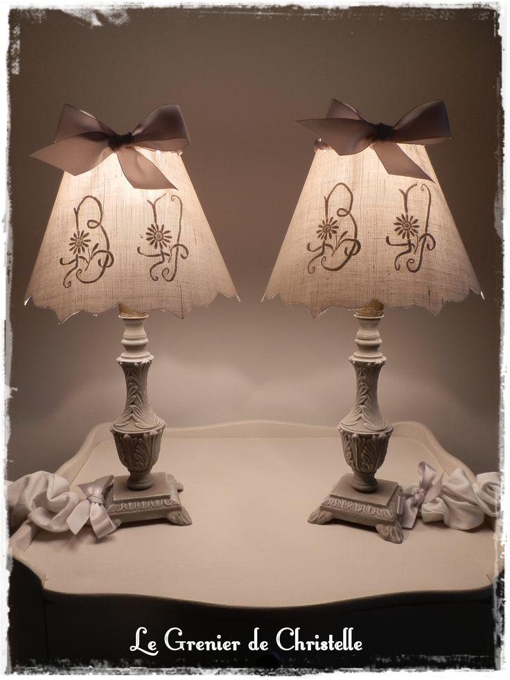 237 best images about abat jour lampe on pinterest. Black Bedroom Furniture Sets. Home Design Ideas