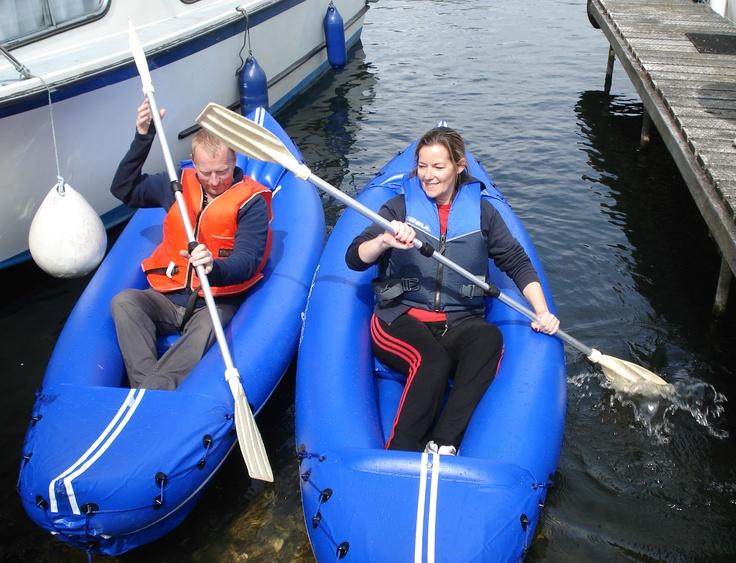 Kayaking on the Nene
