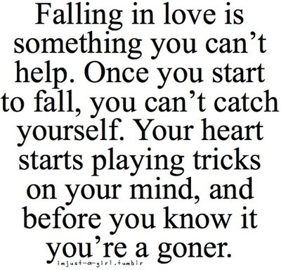 on falling inlove +++Visit www.quotesarelife.com for more quotes about #teen and #growingup