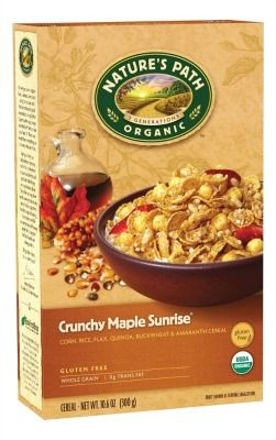 Nature's Path Cereal http://www.onegreenplanet.org/vegan-food/the-10-best-gluten-free-cereal-brands/8/