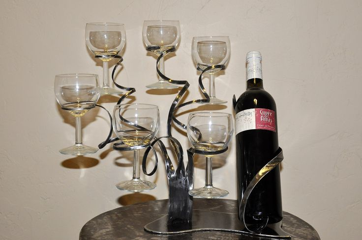 25 best ideas about porte bouteille de vin on pinterest - Porte bouteille vin fer forge ...