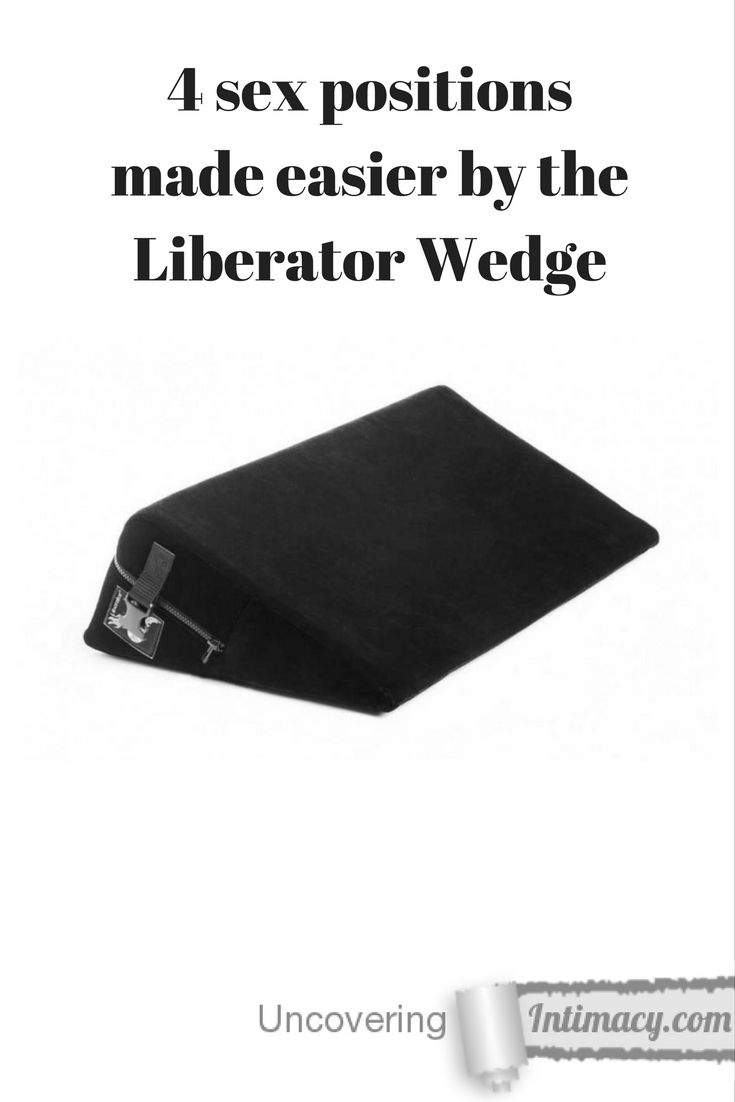 4 sex positions made easier by the Liberator Wedge - I had no idea how much a little wedge-shaped pillow could change sex.  Here's my review of the Liberator Wedge. - http://uncoveringintimacy.com/4-sex-positions-made-easier-liberator-wedge/?utm_campaign=coschedule&utm_source=pinterest&utm_medium=Jay%20Dee&utm_content=4%20sex%20positions%20made%20easier%20by%20the%20Liberator%20Wedge