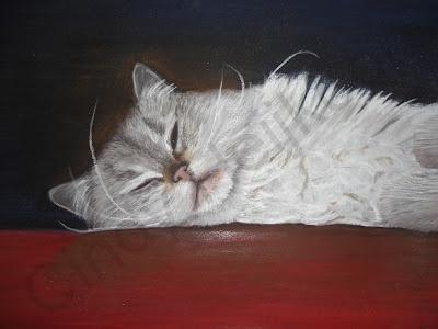 portret of Binkie