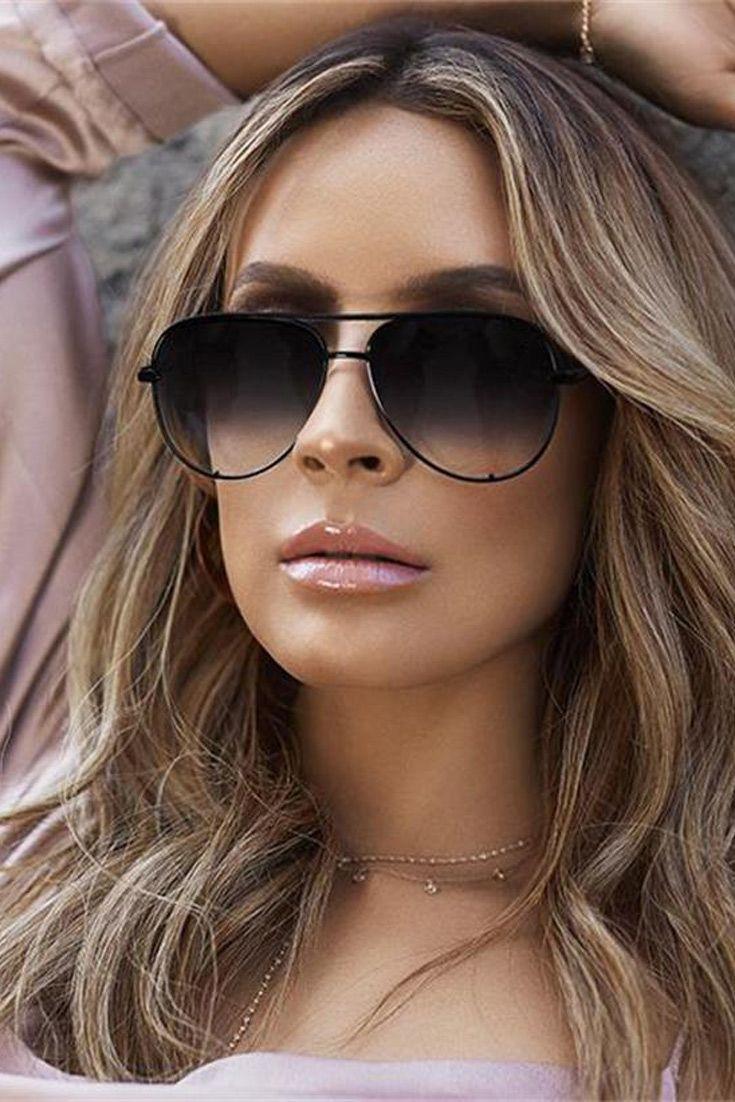 71fc5647f0 Gun Pink sunglasses silver mirror metal sun glasses brand designer pilot  sunglasses women men shades top fashion eyewear lunette On sunglasses women  ...