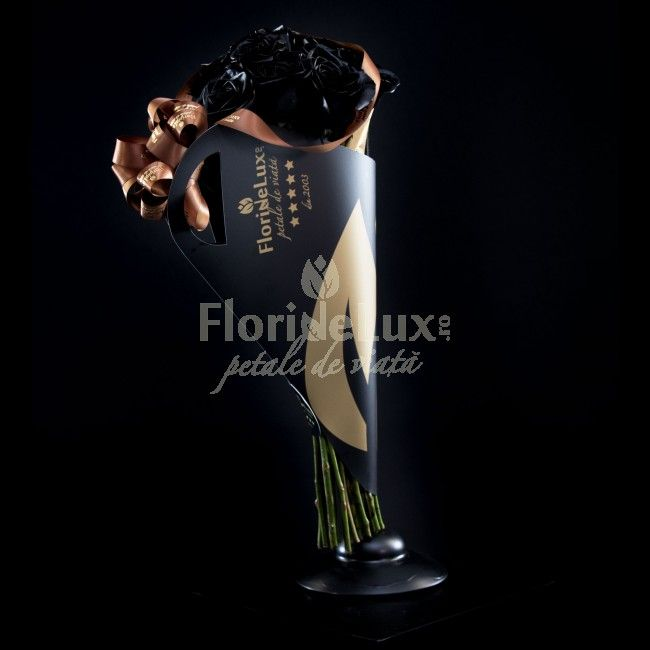 Trandafirii negri sunt misteriosi, salbatici si iti dau fiori de la prima privire...  Sunt un cadou aventuros si care necesita multa incredere in fortele proprii! Indrazneste azi, acum, aici --> https://www.floridelux.ro/trandafiri-negri-de-lux-black-beauty.html