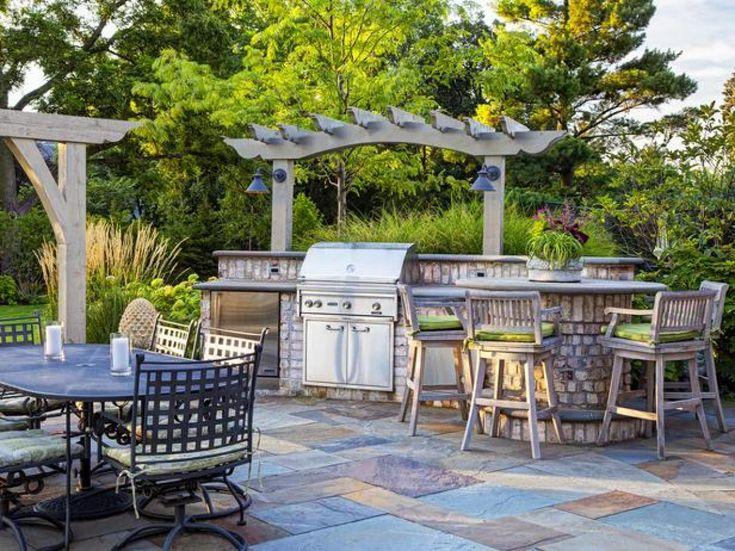 556 best Home Outdoor - Backyard images on Pinterest Backyard - outdoor patio design ideen