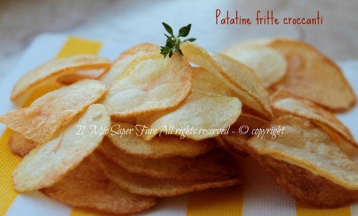 Patatine fritte croccanti dorate e asciutte