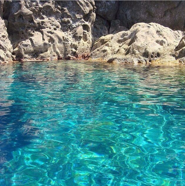 Stromboli's sea