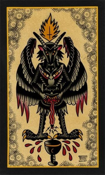 200 best images about occult esoteric symbols on pinterest for Baphomet tattoo meaning