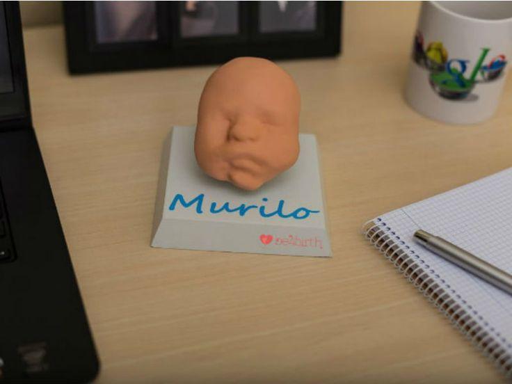 Antigamente, quando uma gestante queria ver como seu filho seria, a única maneira era a partir das imagens do exame de ultrassom. Mas a startup '3D Protos' de Porto Alegre promete transformar essa experiência a partir da impressão em 3D dos bebês.