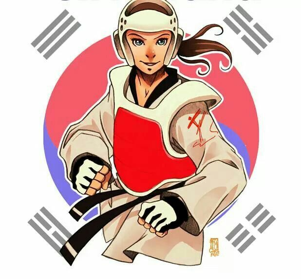 Taekwondo girl                                                                                                                                                     More