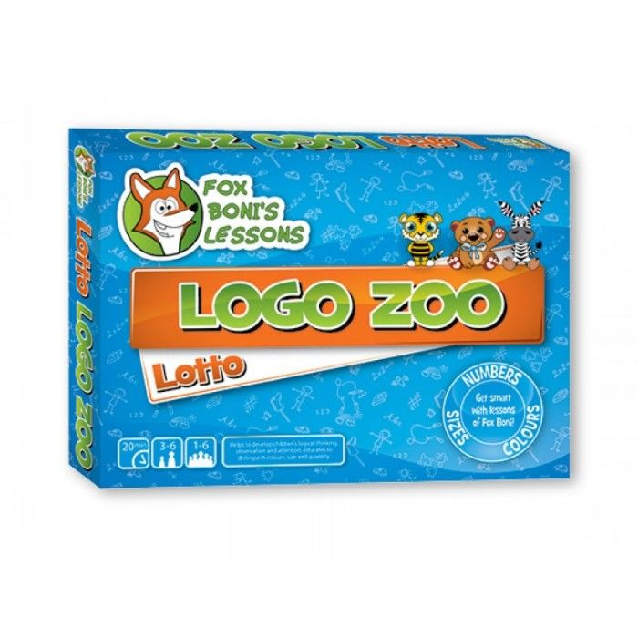 Lotto Logo Zoo- Lekcje Liska Boni // Lotto Logo Zoo- Fox Boni's Lessons