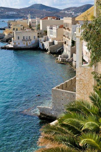 Vaporia Quarter Of Ermoupoli ~ Syros Island , Greece