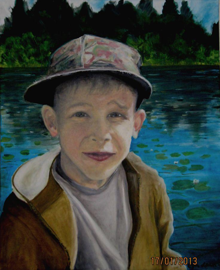 Little boy portrait eija@sisustuspaja.com
