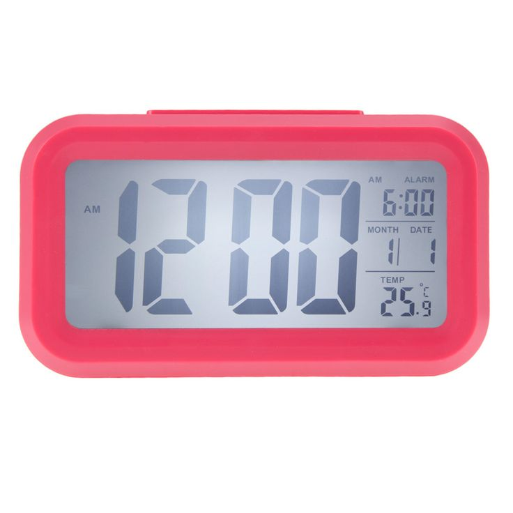 Time Date Alarm Clock Temperature Display LED Alarm Clock Light-activated Sense Snooze Function Calendar Digital Clock Reveil * Offer can be found on AliExpress website by clicking the VISIT button