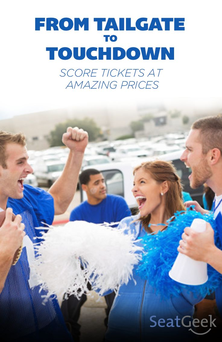 Score tickets to sports games with SeatGeek! We help you choose the best seats at the lowest prices by searching all over the internet for deals!