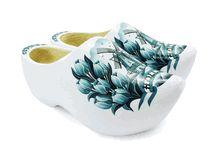 Wooden Shoes Delft Blue Decoration