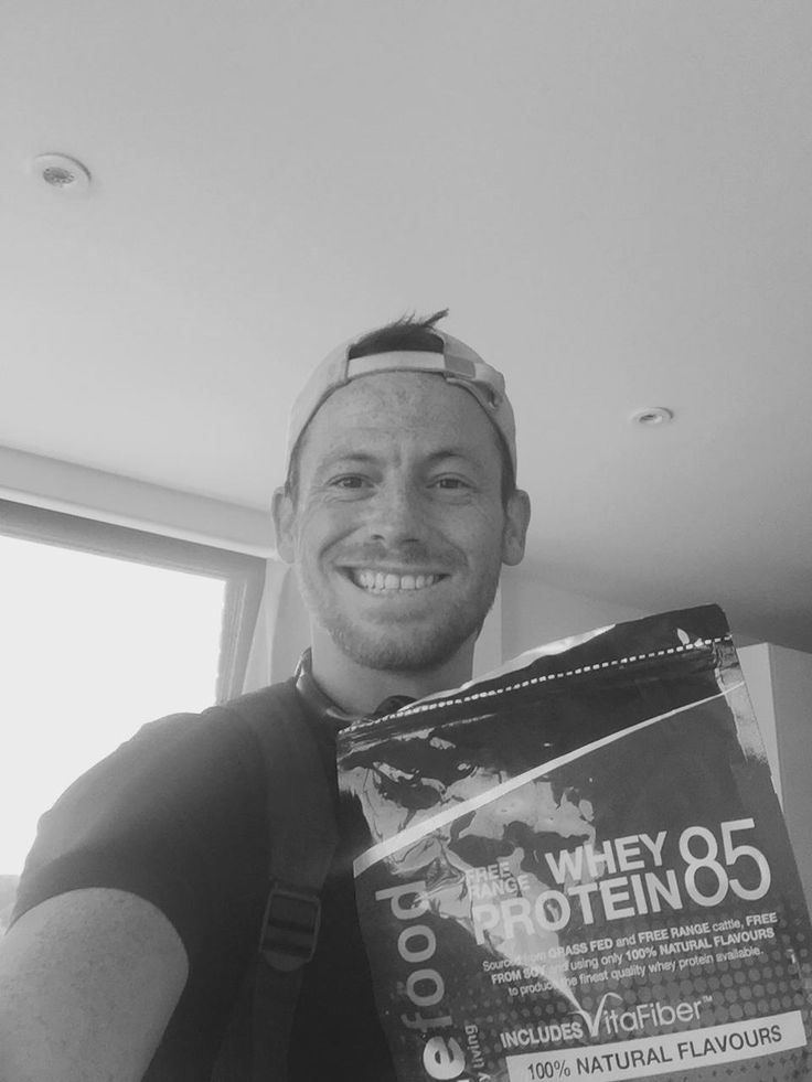 """Cheeky boy Joe Swash... """"Try the protein from @MuscleFoodUK it's the best one I have had!!!!"""" www.musclefood.com"""