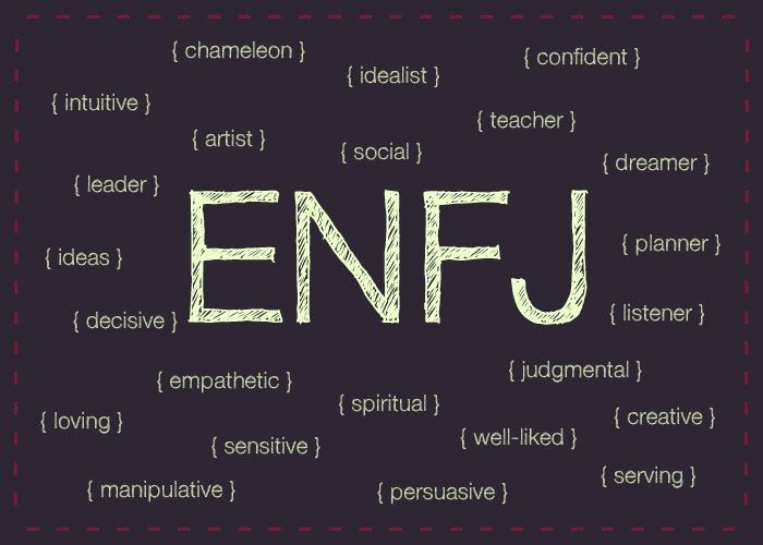 ENFJ // ffffff. these personality type things scare the crap out of me by how spot-on they usually are.