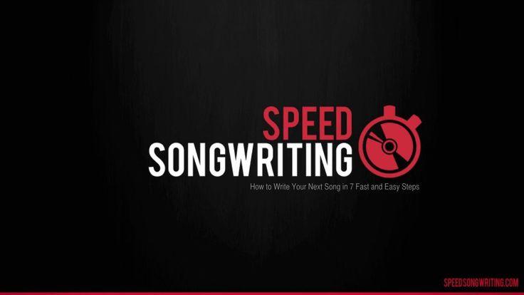 speed songwriting cheat sheet pdf
