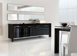 A Sleek Way To Add Storage Your Dining Room Is By Using The Miami Glass Sideboard Made In Italy Tonin Casa Buffet With Either Black
