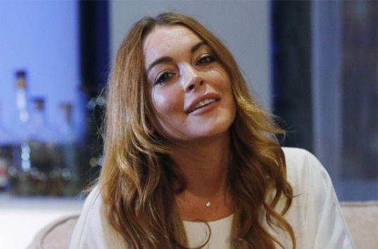 Линдси Лохан сорвала шоу Андрея Малахова на Первом канале