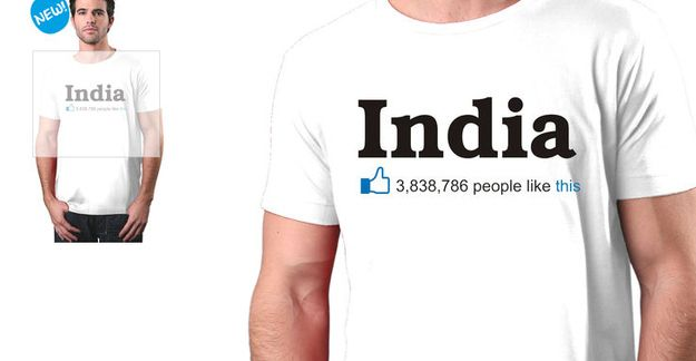 And this T-shirt. | 19 Pictures That Show What Modern India Is Like