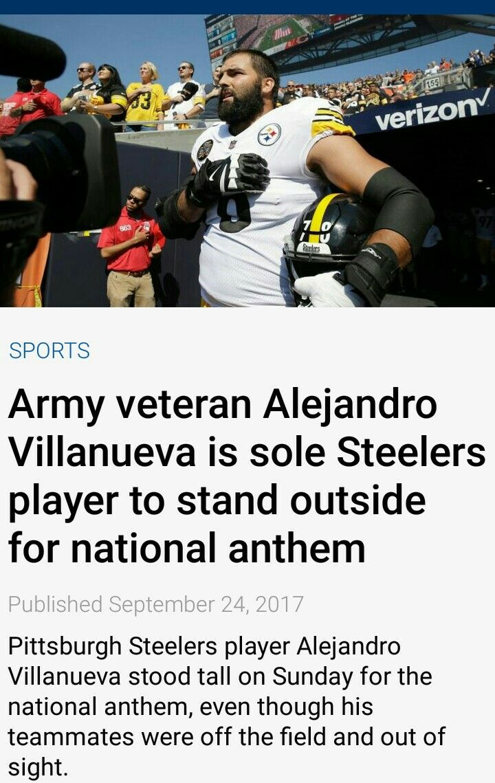 I respect and admire this man.   He is loyal and respectful.  GO VILLANUEVA!!!