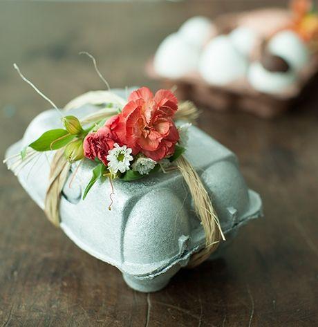 #PascoaPanelinha: cartucho de ovos vira embalagem de presente