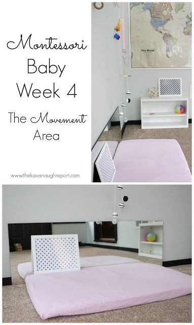 Montessori Baby Week 4 -- The Movement Area