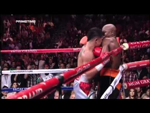 Floyd Mayweather vs Victor Ortiz Knockout Highlights